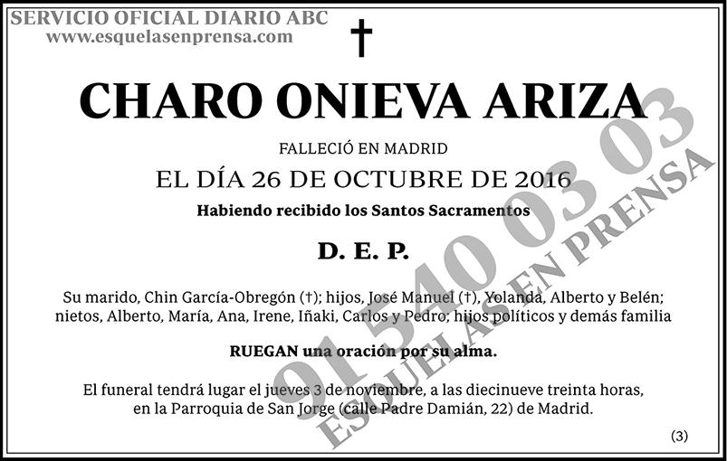 Charo Onieva Ariza